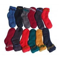 Sock Bed Adult 12pk, Assorted, M - DNT