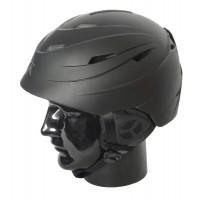 Helmet H01 Adult In Moulded, Matt Black, L