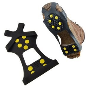 Ice Grip crampons, Black, L