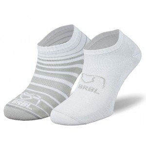 BRBL Baloo 2 Pack, White/Grey, M