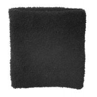 Fleece Neck Warmer Terylene, Black, One