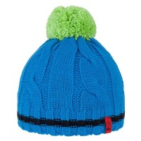 BRBL Beanie Fjord - blue/lime - size M
