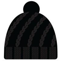 BRBL Beanie Karst - black - size L