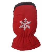 Mitten Baby Flake, Red, One