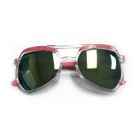 RD Sunglasses - SA19-1, Clear/Pink, Kids