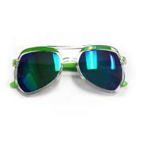 RD Sunglasses - SA19-1, Clear/Green, Kids