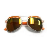 RD Sunglasses - SA19-1, Clear/Orange, Kids