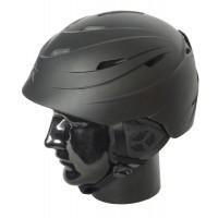 Helmet H01 Adult In Moulded, Matt Black, XL