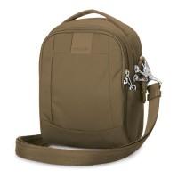 Pacsafe Metrosafe LS100 - cross body bag, sandstone