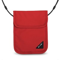 Pacsafe Coversafe X75 - neck pouch - chilli