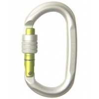 Edelrid Carabiner - Oval Power 2400 screw