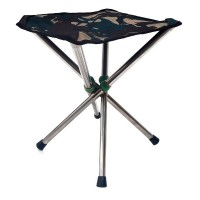 Chair - Stainless folding quad