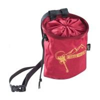 ED Chalk Bag Rocket, Dark Red, One