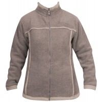 Moa Jacket Wool Look Fleece WM, Latte., M