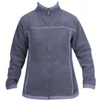 Moa Jacket Wool Look Fleece WM, Purple., 3XL