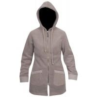 Moa Coat Wool Look Fleece WM, Latte., 3XL