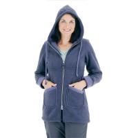 Moa Coat Wool Look Fleece WM, Purple., L