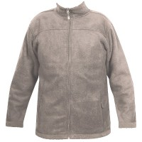 Moa Jacket Wool Look Fleece, Latte., M