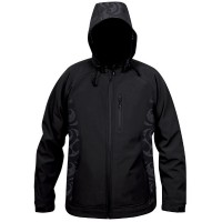 Moa Jacket Soft Shell Nepia, Black., XXL