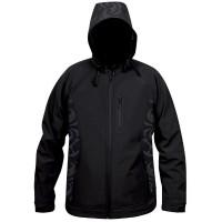 Moa Jacket Soft Shell Nepia, Black., 3XL
