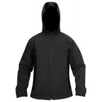 Moa Jacket Soft Shell Tia WM, Black., 3XL