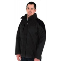 Kiwistuff Jacket Mallard, Black., 3XL
