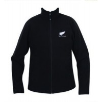 Kiwistuff Fleece Jacket Kea, Black., XXL