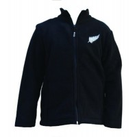 Kiwistuff Fleece Jacket Jollie, Black., 06Kid