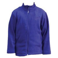 Kiwistuff Fleece Jacket Jollie, Blue., 08Kid