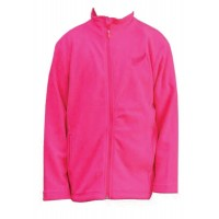 Kiwistuff Fleece Jacket Jollie, Fluro Pink, 08Kid
