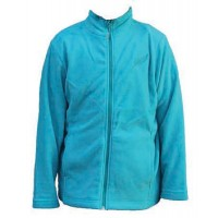 Kiwistuff Fleece Jacket Jollie, Teal., 08Kid