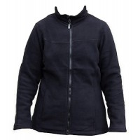 Kiwistuff Fleece Jacket Ivy, Blk -No Fern, XL