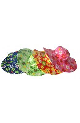 Kiwistuff Hat - Bright Sun Hat Wide Brim Asstd