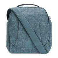 Pacsafe Metrosafe LS200 - shoulder bag, dark tweed