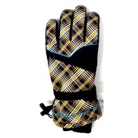 Glove Grid DT32-2, Yellow, M / L