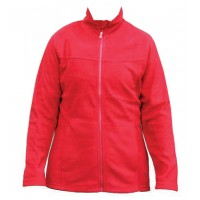 Kiwistuff Fleece Jacket Ivy, Red., 3XL