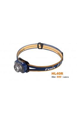 Fenix - Headlamp HL40R (600 lumens), blue