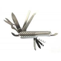Pocket knife - Silver 12 in 1
