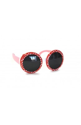 RD Sunglasses - Kids Style DT1-1, Red/White