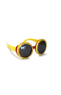 RD Sunglasses - Kids Style DT1-1, Yellow/Red
