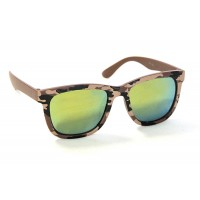 RD Sunglasses - Style DT1-4, Camo Brown