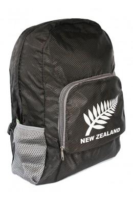 Kiwistuff bag - Foldable Backpack, Black (KDT171)
