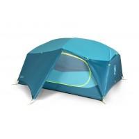 Nemo Tent -  Aurora 3P (blue) & footprint