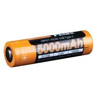 Fenix - Battery 21700 50000mAh Type-C USB Rechargeable