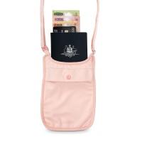 Pacsafe Coversafe S75 - secret neck pouch, orchid pink