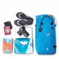 Pacsafe Travelsafe X15 - portable safe & pack insert, blue