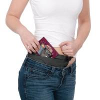 Pacsafe Coversafe V100 - waist wallet - Black