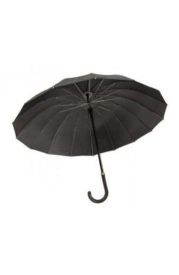 Kiwistuff Umbrella Large, black with NZ logo