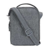 Pacsafe Metrosafe LS100 - cross body bag, Dark Tweed