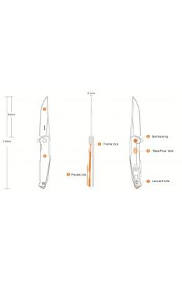 Ruike - Knife Folding - P108